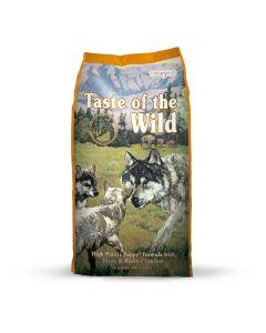 TASTE OF THE WILD  HIGH PRAIRIE PUPPY (BISONTE Y VENADO ASADO) 28/17