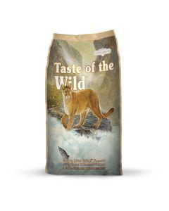 TASTE OF THE WILD  CANYON RIVER FELINE (TRUCHA Y SALMÓN AHUMADO) GATO 42/18