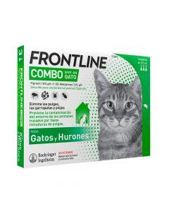 FRONTLINE COMBO PLUS GATO 3 PIPETAS