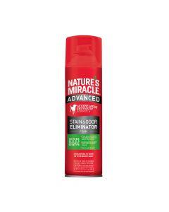 Nature's Miracle - Espuma quitamanchas y olores para perros 17.5 oz