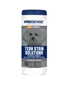 Pro·Sense Plus Tear Stain Solution Wipes 50 ct