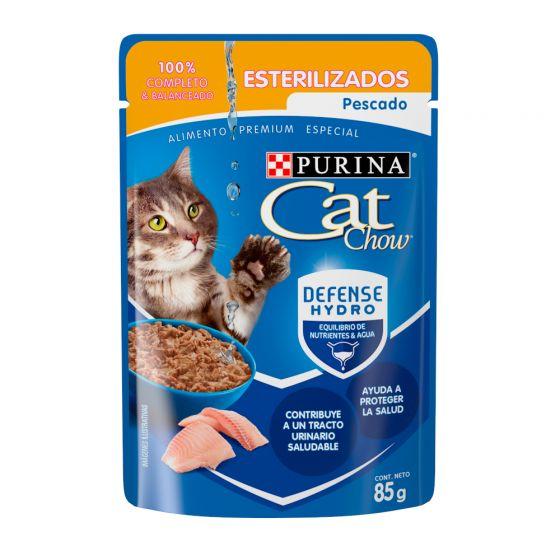 CAT CHOW ESTERILIZADO PESCADO