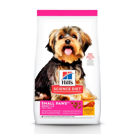 SCIENCE DIET  ADULT  SMALL PAWS
