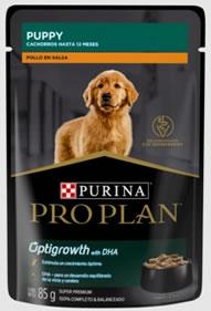 Purina Pro Plan Puppy Pollo en salsa 85G